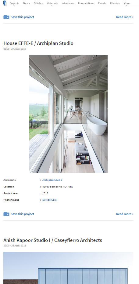 Casa Effe-e on-line