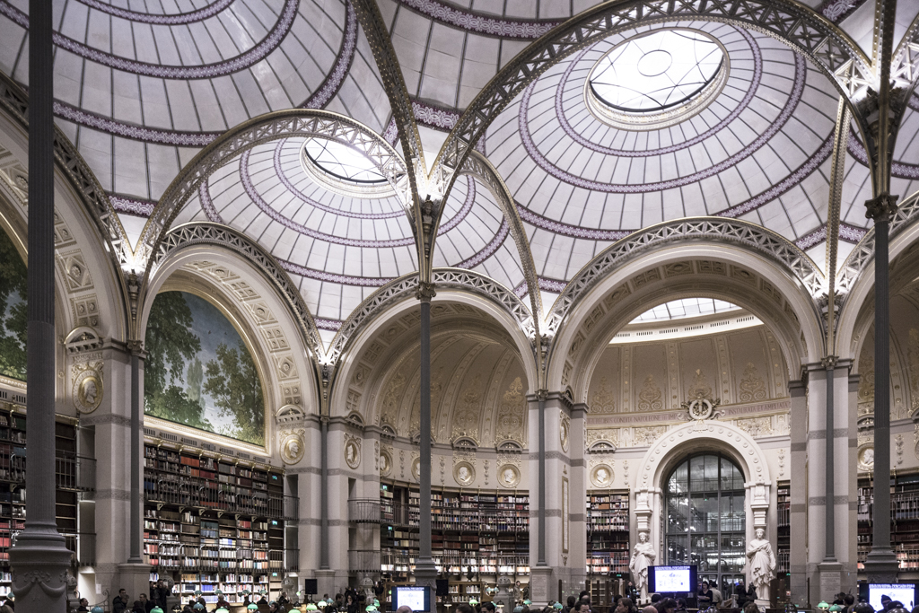 Bibliothèque nationale de France, Paris – Henri Labrouste, 1854