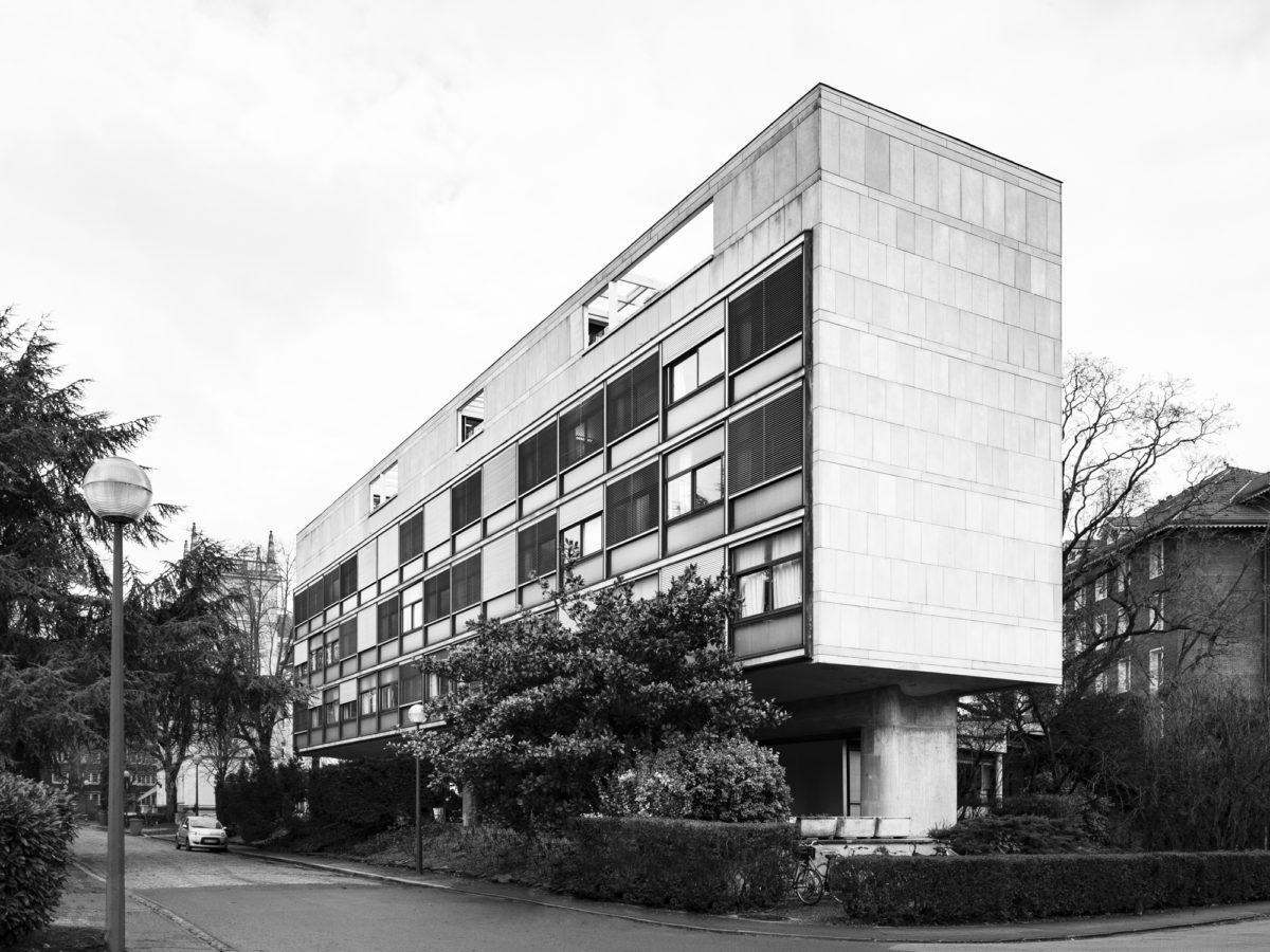 Swiss Pavilion, Cité Internationale Universitaire, Paris – Le Corbusier, 1931