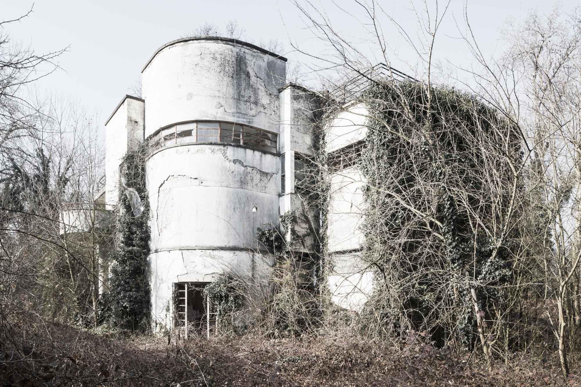Villa duplex per i direttori dello zuccherificio di Sermide – Zavanella, 1931