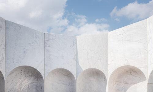 Giardino delle Rimembranze, Guastalla Chapel - Go Hasegawa, Pibamarmi - Davide Galli Fotografo di Architettura e Interni Milano