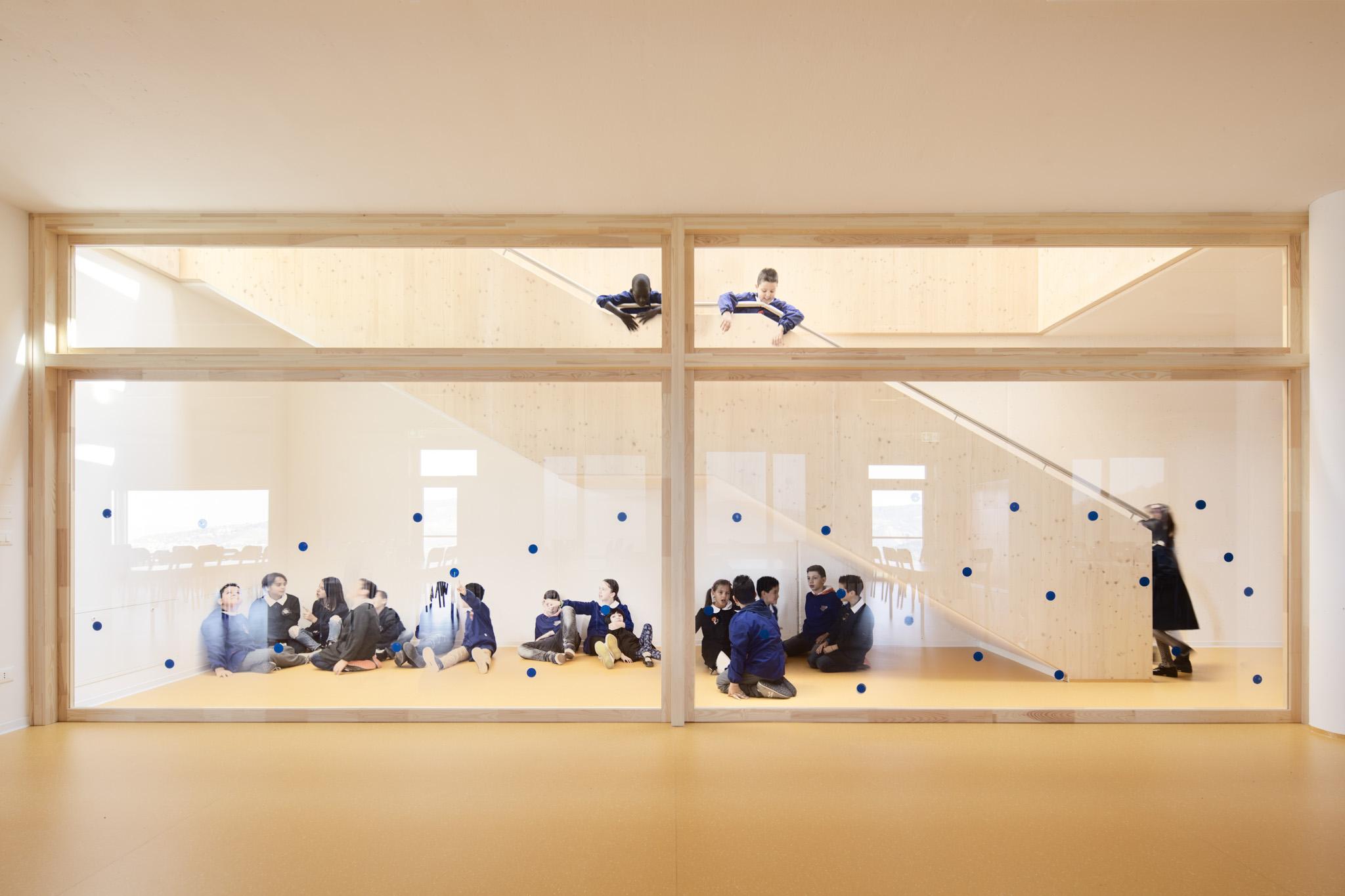 SCUOLA PRIMARIA LOIANO - Contini Architettura - Davide Galli Atelier Fotografo di Architettura e Interni Milano