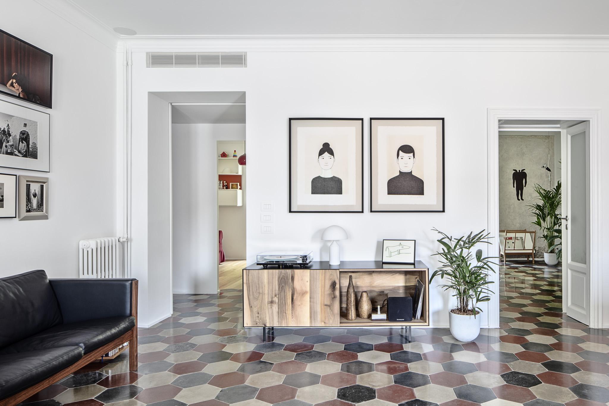 Casa di un illustratore